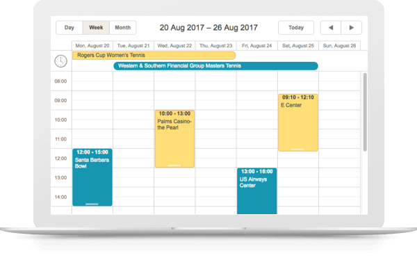 Need a full-featured JavaScript Scheduler?