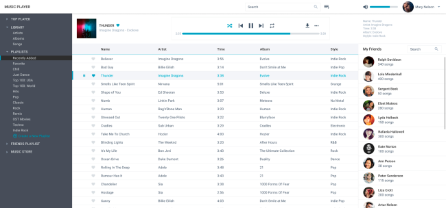 music lib player